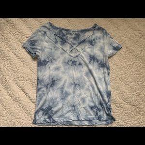 Blue Tie Dye Aero T-shirt